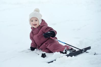 Sweden's Princess Estelle breaks leg in ski accident during family holiday