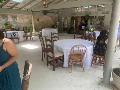 The bridesmaid also criticised the reception venue.