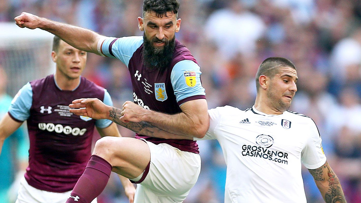 Mile Jedinak's Aston Villa fall short of EPL promotion, go down to Fulham in playoff