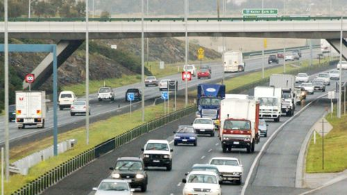 """Victoria's Labor government has committed $10 billion to building the """"missing link"""" on the Metropolitan Ring Road. (AAP)"""