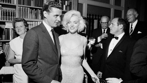 Marilyn Monroe's 'Happy Birthday Mr President' dress sells for $6.5 million