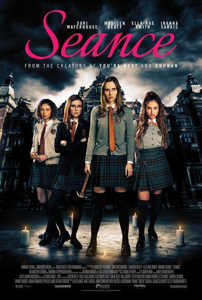 Suki Waterhouse stars in the new horror movie Seance.