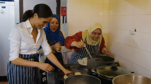 The kitchen originally provided a place for the women to cook fresh food for their families and neighbours.