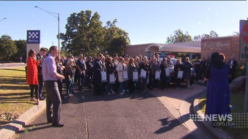 The decision sparked angry protests from officers. (9NEWS)