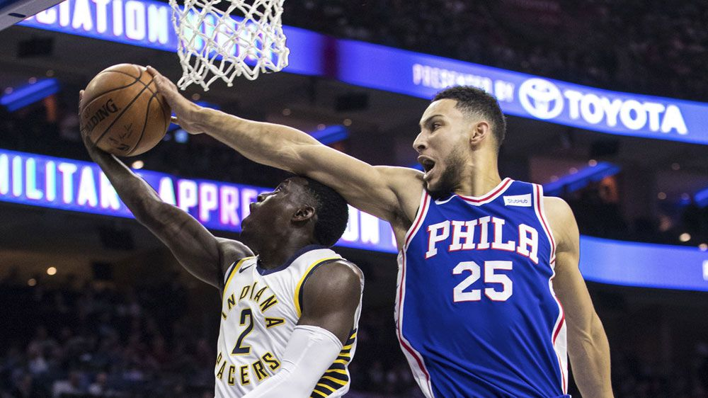 Simmons triple-double gets 76ers NBA win