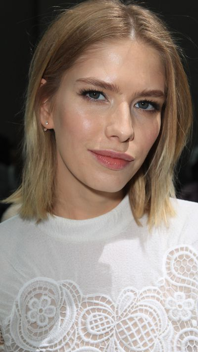 Elena Perminova: The glowing complexion