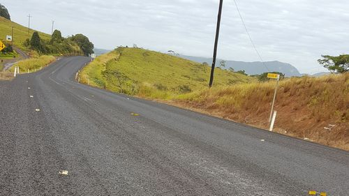 leaving loose gravel across the road's surface which resulted in many cracked windscreens (Picture: Deborah Stacey)