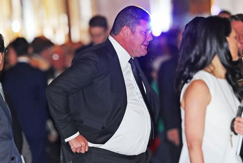James Packer denounced allegations that the Crown Casino tampered with its poker machines. Picture: Getty