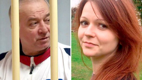 Sergei Skripal and his daughter Yulia were poisoned by a nerve agent in March.