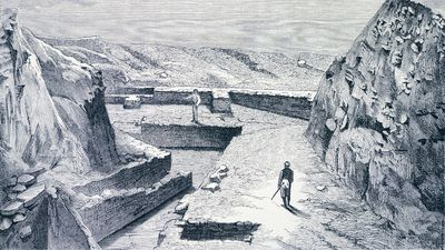 The city of Troy was hunted by historians and archaeologists for centuries before Heinrich Schliemann found the site of the famous settlement in Turkey in the 1870s. However, with his discovery that nine different cities sat on top of one another there, and taking into account his determination to reach the Troy of Homeric legend, he decided to make use of a recent invention to dig into the past. That invention was dynamite. It did not go well. (Getty)