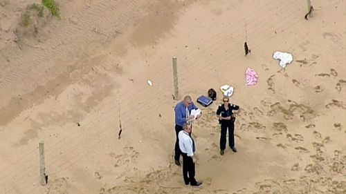 A local woman walking her dog discovered the remains in Anglesea. (9NEWS)
