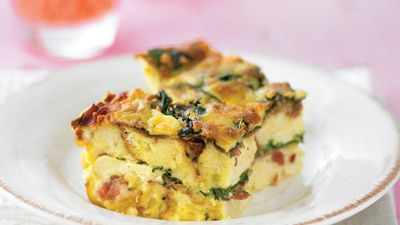 "<a href=""http://kitchen.nine.com.au/2016/05/13/10/42/spinach-and-cheese-strata"" target=""_top"">Spinach and cheese strata</a>"