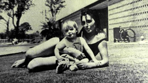 Carole Grimmer, then 26, with her daughter Cheryl.