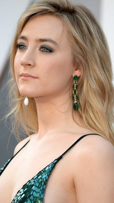 Saoirse Ronan in Chopard jewels.