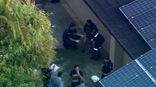 Paramedics treated injuries at the scene.