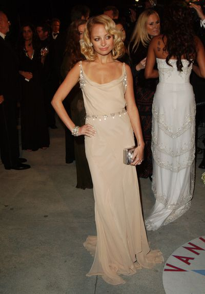 Nicole Richie at the 2005 Vanity Fair Oscar Party  in Los Angeles, 2005