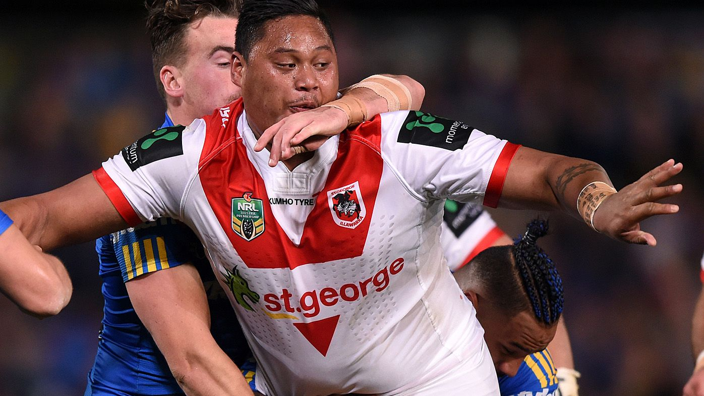 NRL: St George Illawarra Dragons' Luciano Leilua reveals incredible weight loss