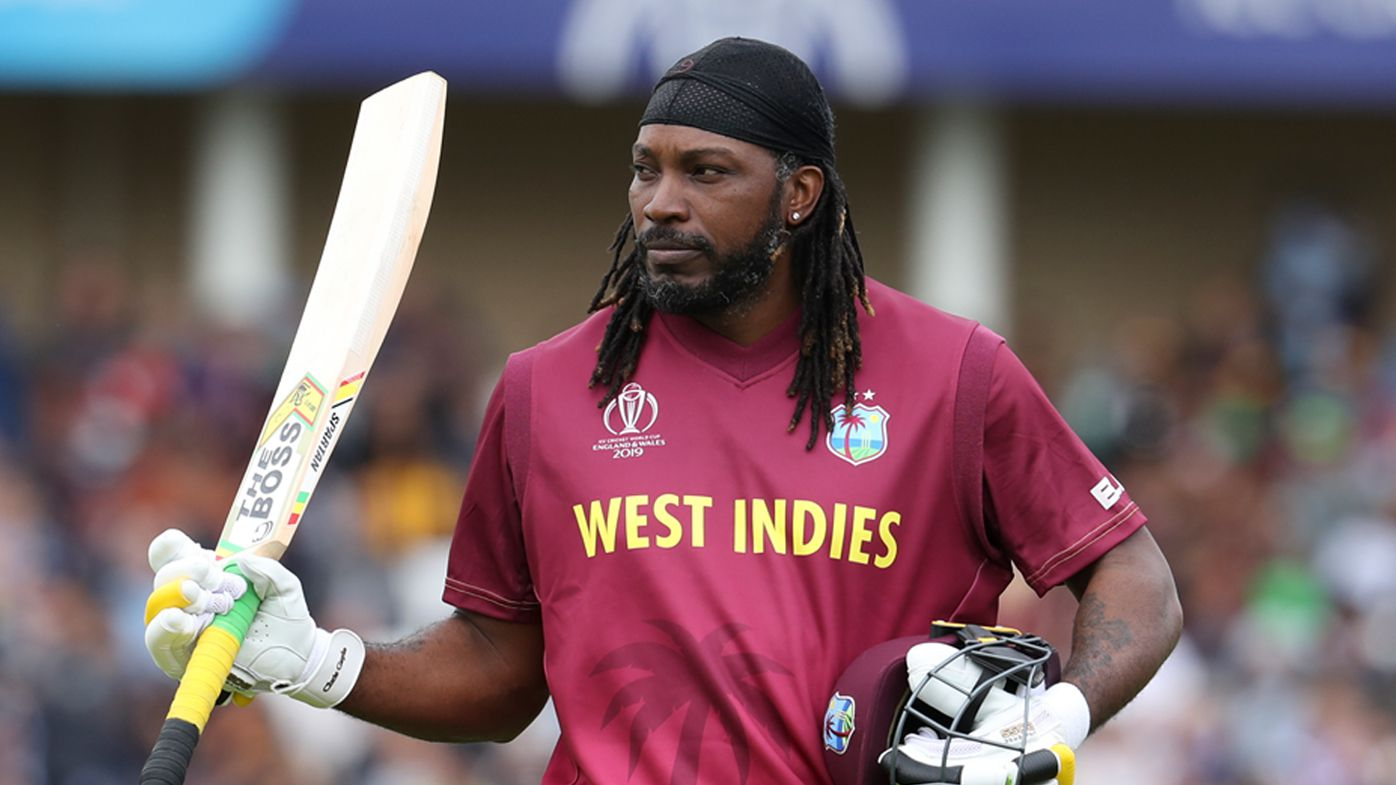 Chris Gayle sets World Cup sixes record