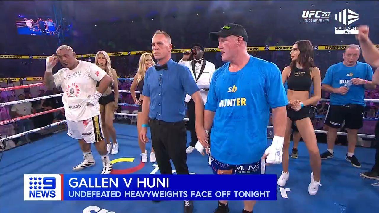 Paul Gallen vs Justis Huni Ultimate Guide: Time, date, full card, swipe at weigh-in