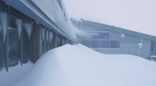 Heavy falls are expected until Monday. (Perisher)