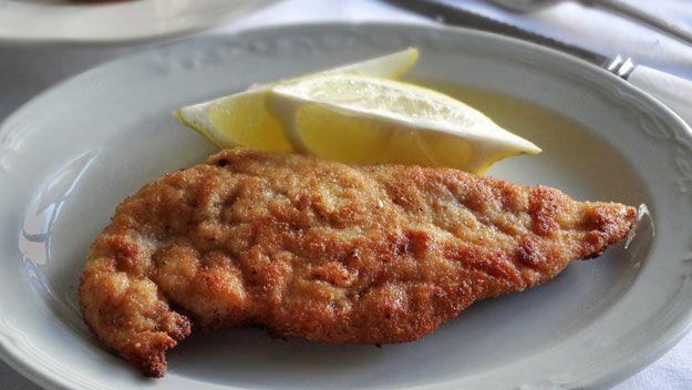 The perfect chicken schnitzel