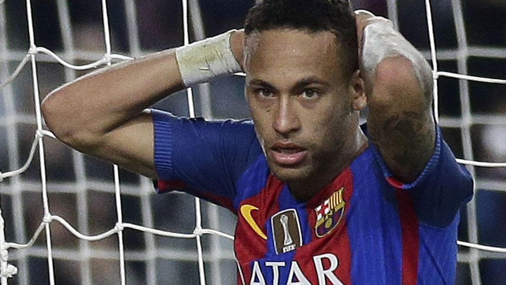Barcelona star Neymar will stand trial on corruption charges. (AAP)