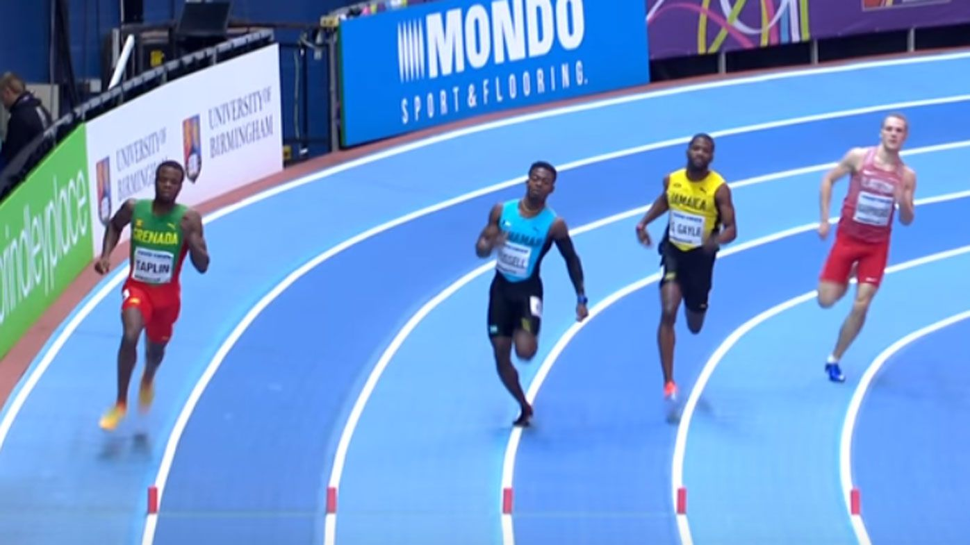 Every single runner in this 400m race was just disqualified