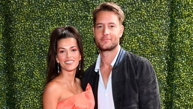 Sofia Pernas, Justin Hartley, 2021 MTV Movie & TV Awards, Hollywood Palladium, May 16, 2021