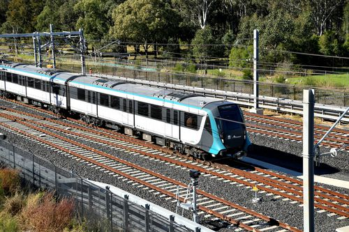 190527 Sydney Metro launch peak hour weekday test Gladys Berejiklian transport news NSW Australia