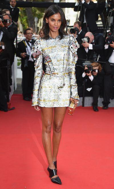 Liya Kebede in Louis Vuitton