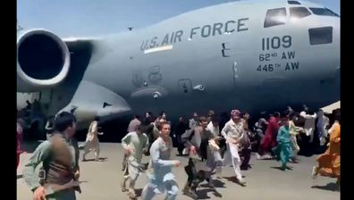 The images beamed to the world of desperate Afghans clinging to the wings of a departing American military cargo plane will long remained etched in our minds.