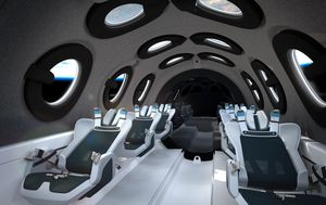 Virgin Galactic releases first look inside SpaceShip Two