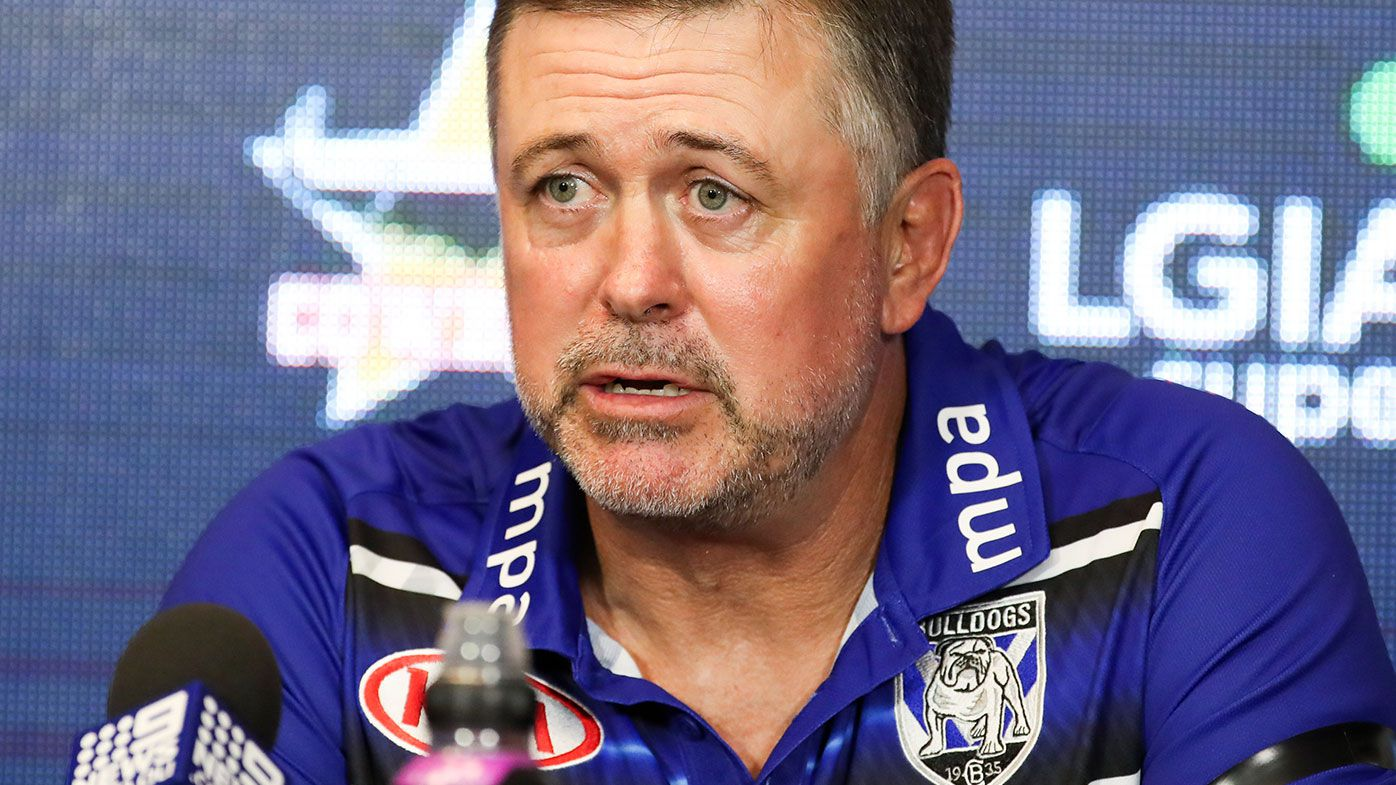 Bulldogs NRL coach Dean Pay
