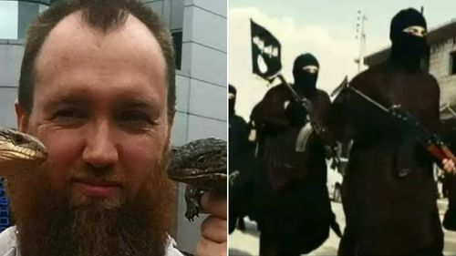 Adam Brookman has been charged with supporting ISIL.