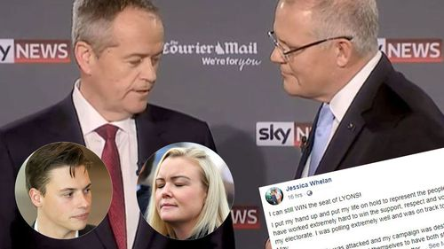 Scott Morrison Bill Shorten