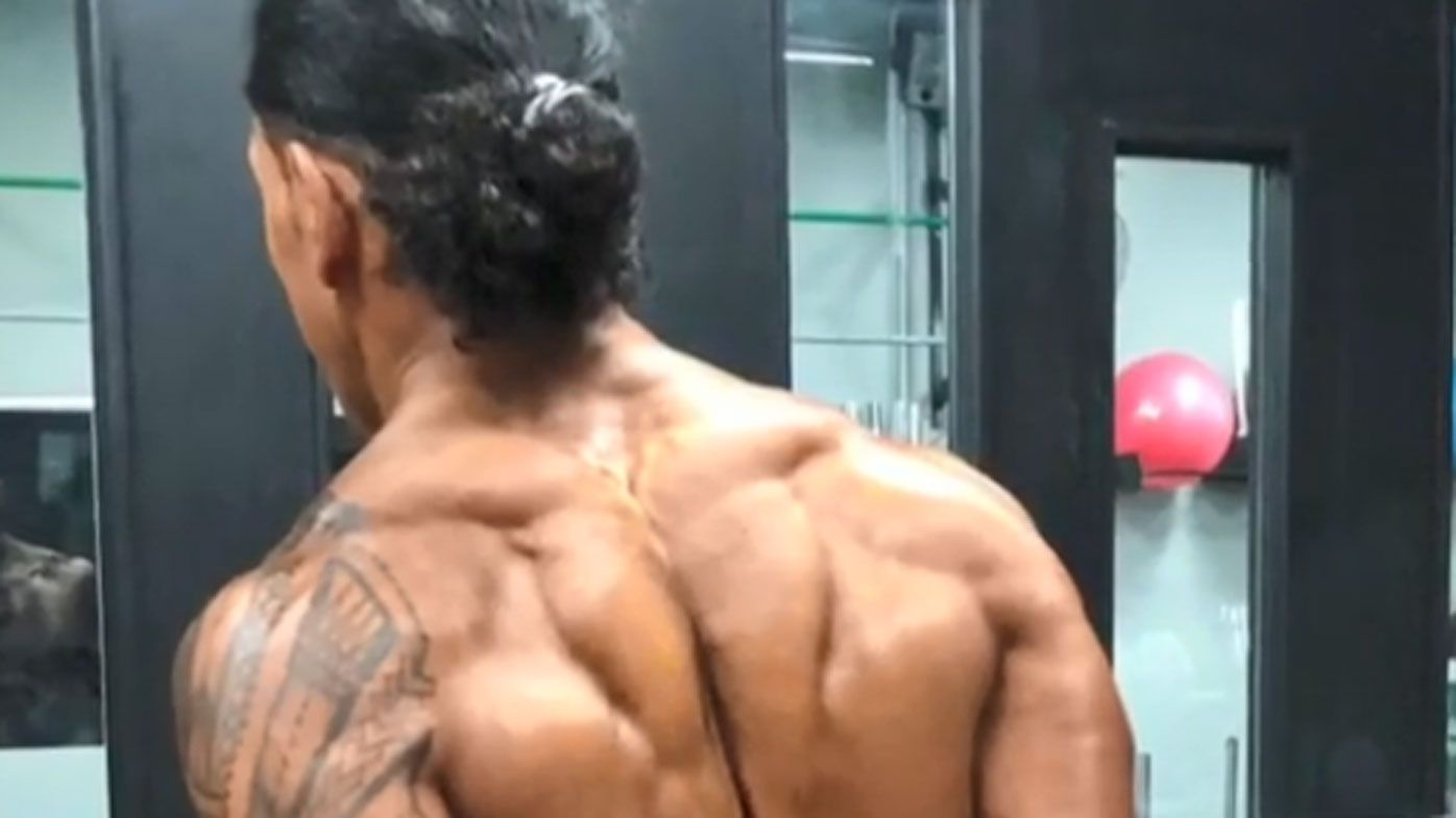 Former NRL enforcer Ruben Wiki shows off new ripped physique
