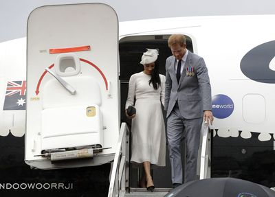 The Sussexes' 'private jet scandal' - August 2019