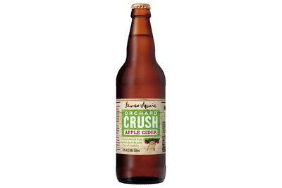 James Squire Orchard Crush Apple Cider (500ml): 875kj