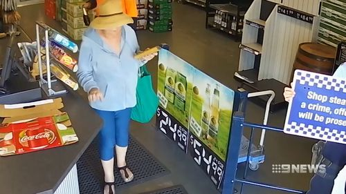 Police have released CCTV footage of Louise Allison Langhorn wearing the same clothes she was wearing when she was attacked.