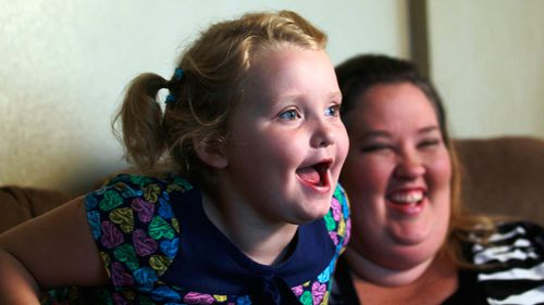 Honey Boo Boo and mother June Shannon. (AAP)