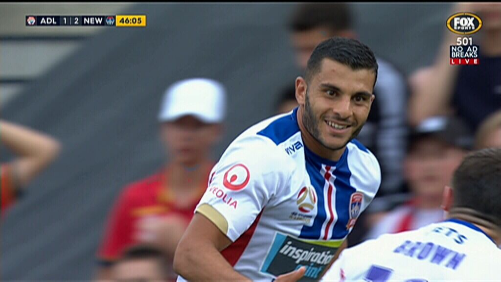 Nabbout scores for Jets