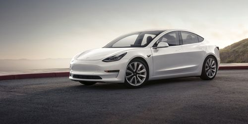 The Tesla Model 3 is one of the vehicles that will soon come with the added benefits of the Autopilot update. Picture: Supplied