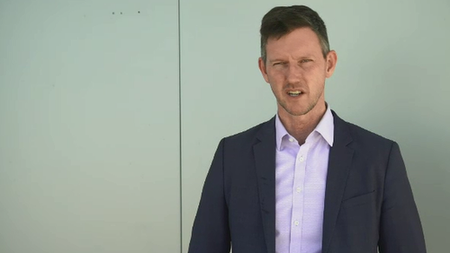 Queensland Transport Minister Mark Bailey.