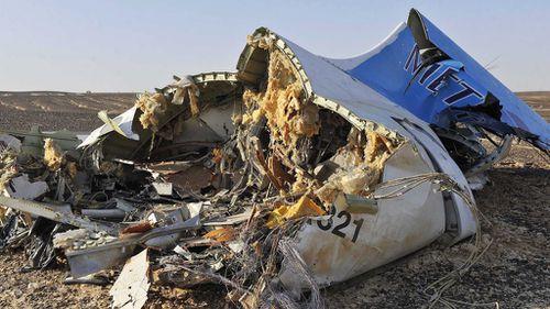All 224 people aboard the flight died. (AAP)