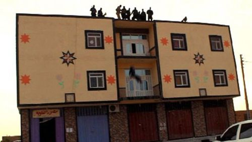 ISIL throws man off roof to his death for being 'gay'