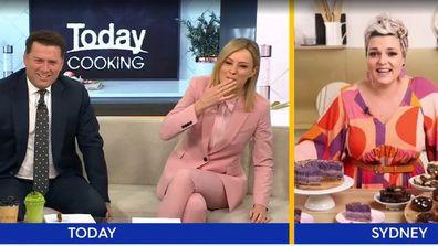 Vegan avo choc fudge divides Today Show hosts