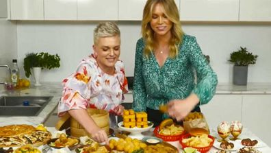 Food writer Jane de Graaff and Lara Vella talk about using frozen foods for entertaining