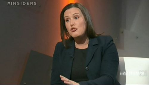 Kelly O'Dwyer refused multiple requests to address the question of the commission's timing, saying the media was obsessing about it. (Supplied)