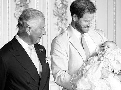 Prince Charles Prince Harry Archie 1