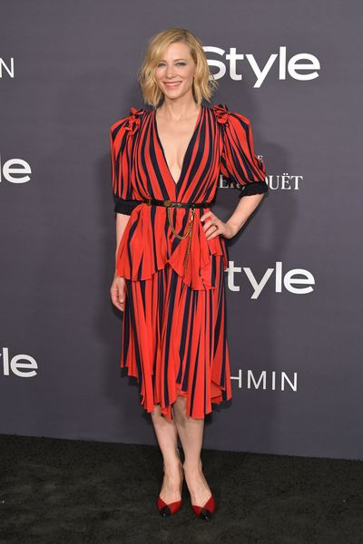Cate Blanchett in Givenchy at the 3rd Annual InStyle Awards  in Los Angeles, October, 2017